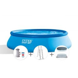 Pileta Easy Set + Inflables+ Inflador 25262/1 i450