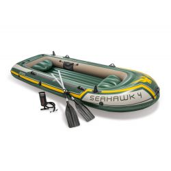 Bote Gomón Inflable Intex Seahawk 4 Set 19591/9 i450