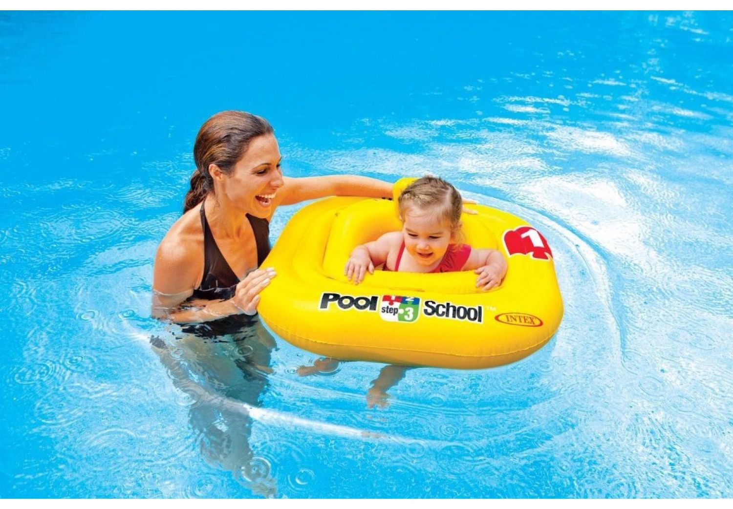 Flotador Inflable Deluxe Baby Float 23974/5 img 2