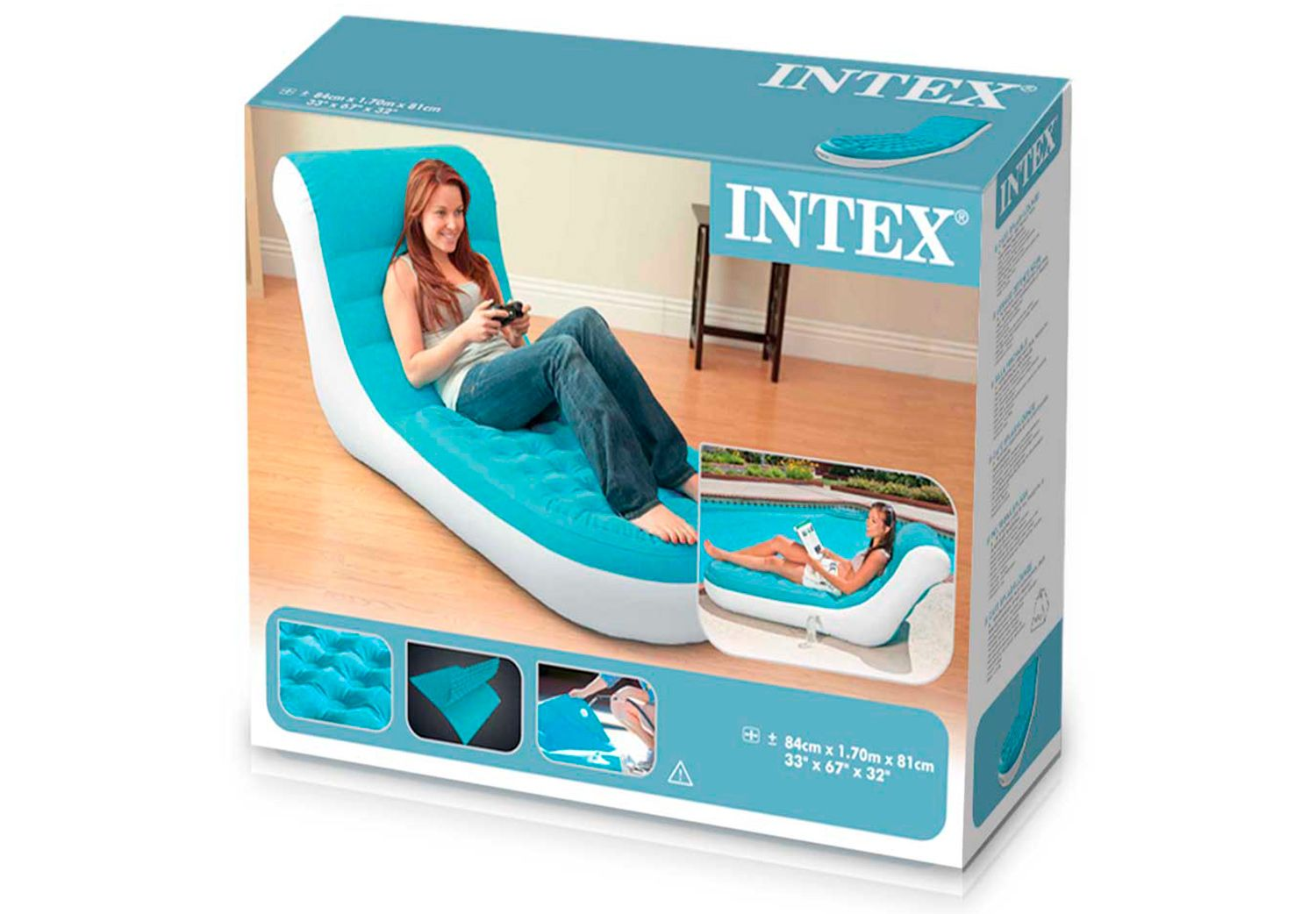 Sillón Inflable Splash Lounge 23743/7 img 5